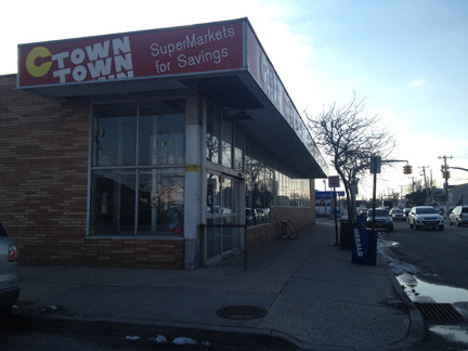 C-Town, at 1080 W. Beech St., is expected to reopen as a Key Food supermarket in the spring.