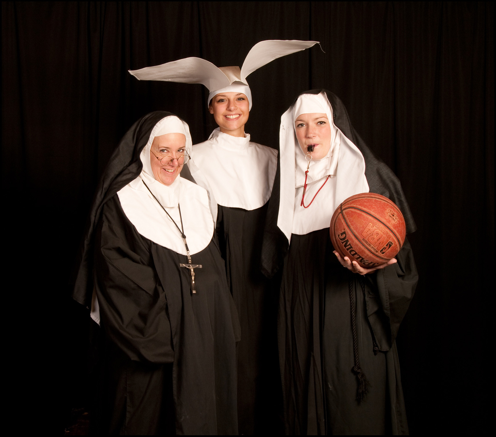 "The Little Sisters of Hoboken return in Plaza Theatrical Productions' ""Nunsense 2: The Second Coming!"" on Sunday in Bellmore."