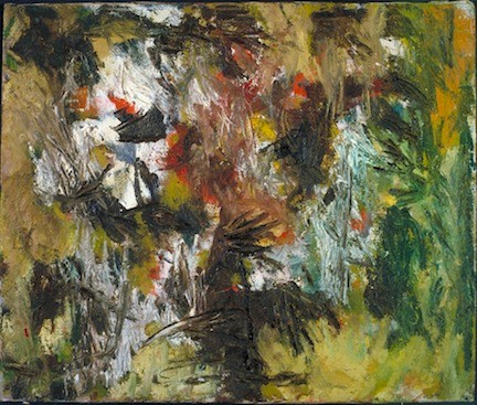 Jon Schueler's Small Painting #3, 1949, is among the works by some of the lesser known abstract painters on display at Nassau County Museum of Art.