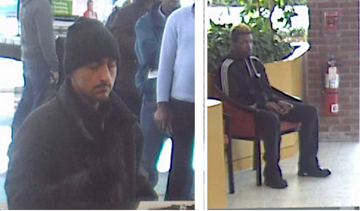 Police have released these images of the two men they say robbed TD Bank in Valley Stream on March 24.