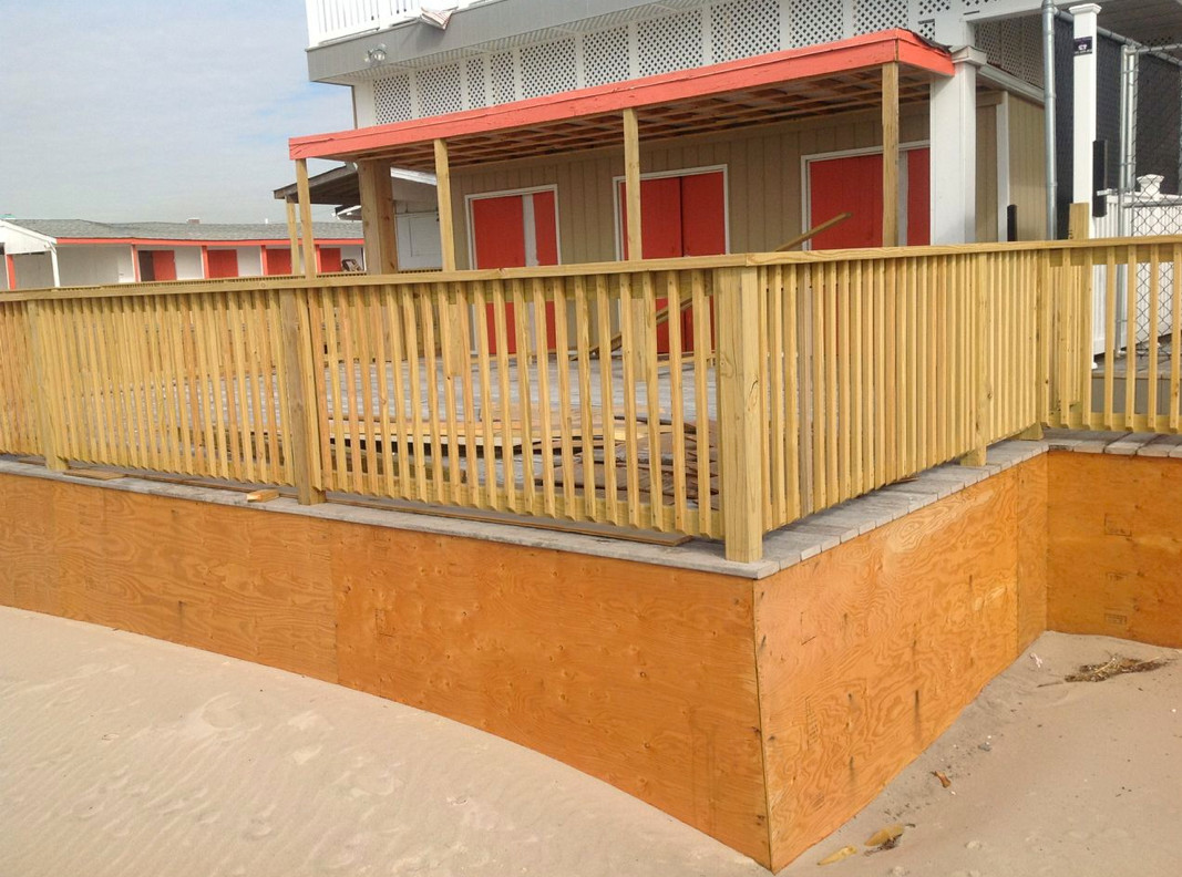 Howard Taub, owner of the Sunny Atlantic Beach Club, has been paying for repairs out of his own pocket in order to get the club open for Mother's Day on May 12.