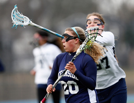 Senior attack Courtney Collins got off to a big start for the Lady Sailors with 10 goals and four assists in the first two games.