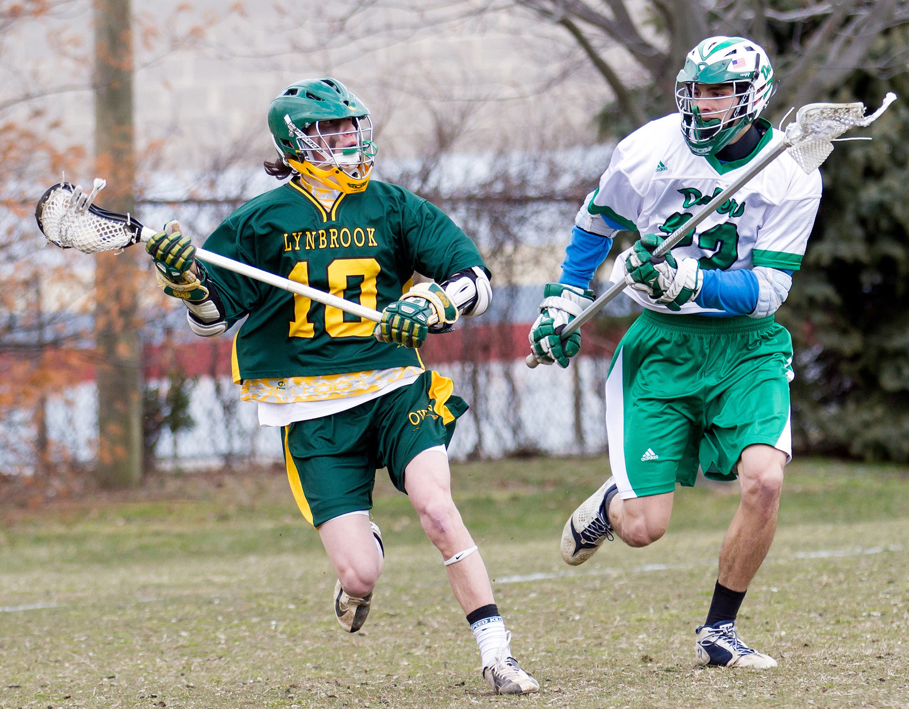The playmaking skills of senior Nick LoCicero, left, will be one of the keys to success for Lynbrook.