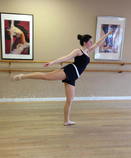 The Dance Space student Jordan Palmese was accepted into the prestigious Joffrey Ballet Summer Intensive program, a program that exposes students to a rigorous and exciting ballet program.