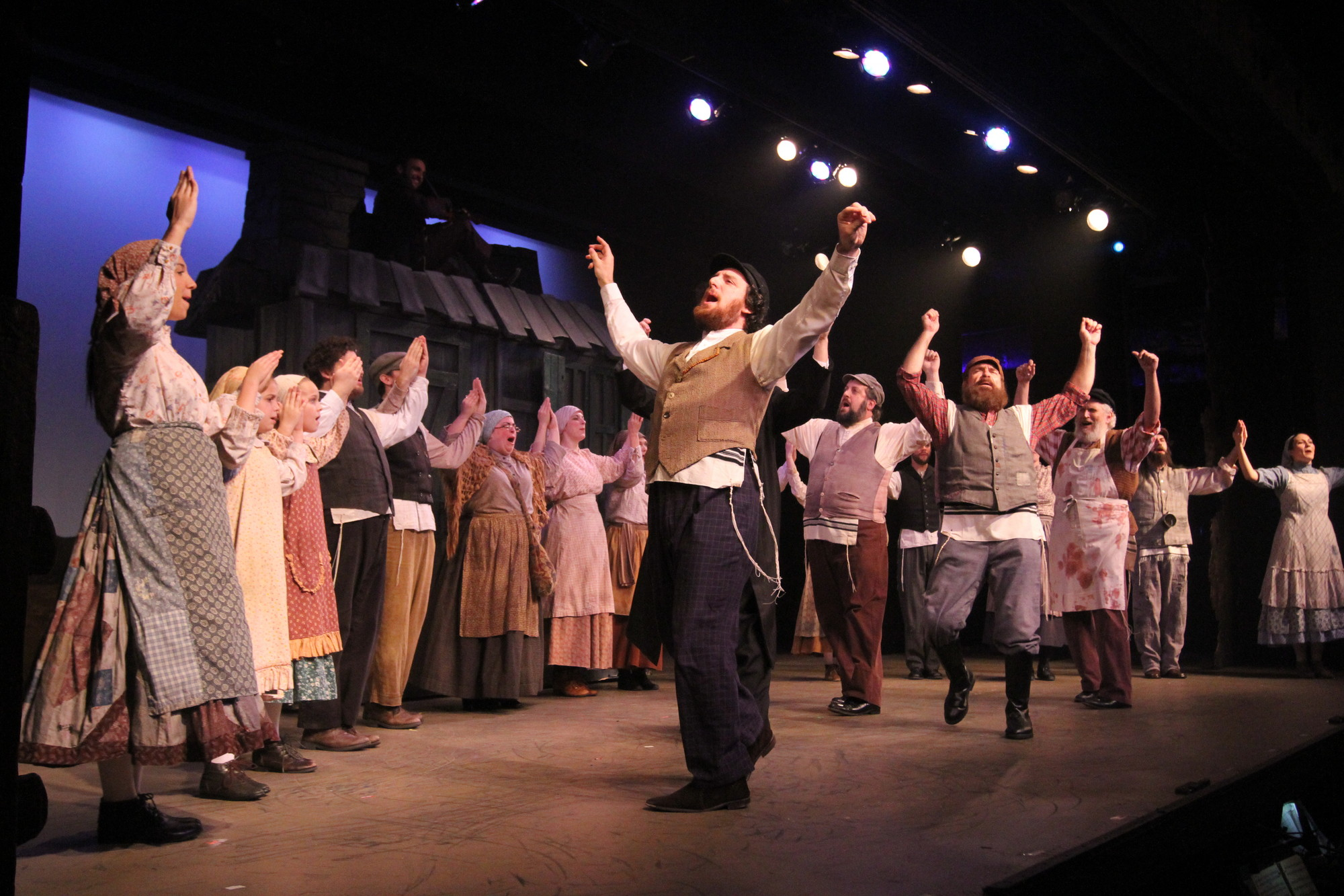 The villagers of Anatevka share their hopes, dreams and changing traditions with audiences when the touring production of �Fiddler on the Roof� comes to Rockville Centre.