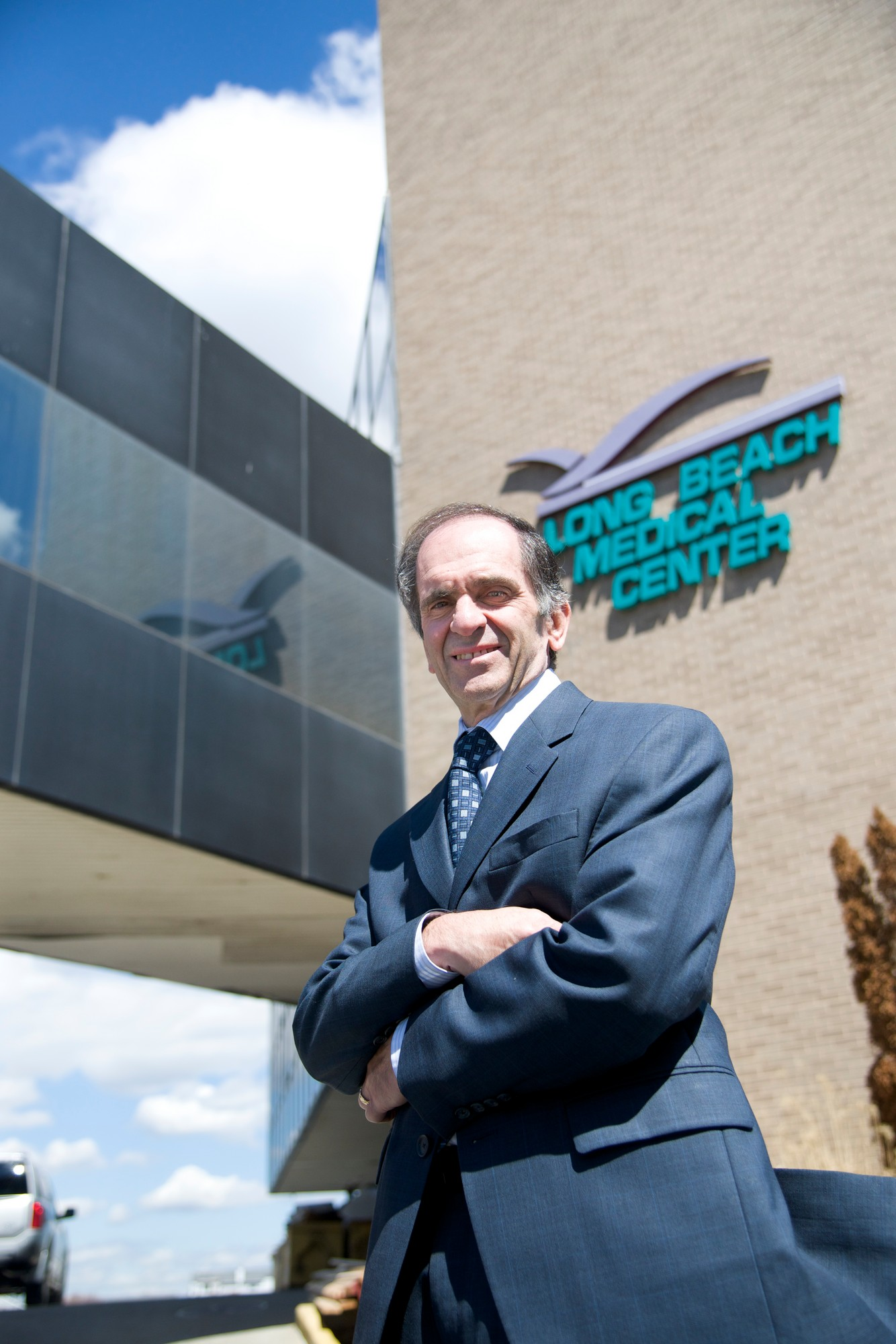 Long Beach Medical Center CEO Doug Melzer expects a mid- to late-April reopening.