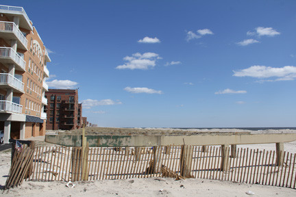 The city said that sections of the boardwalk may be completed by the summer.