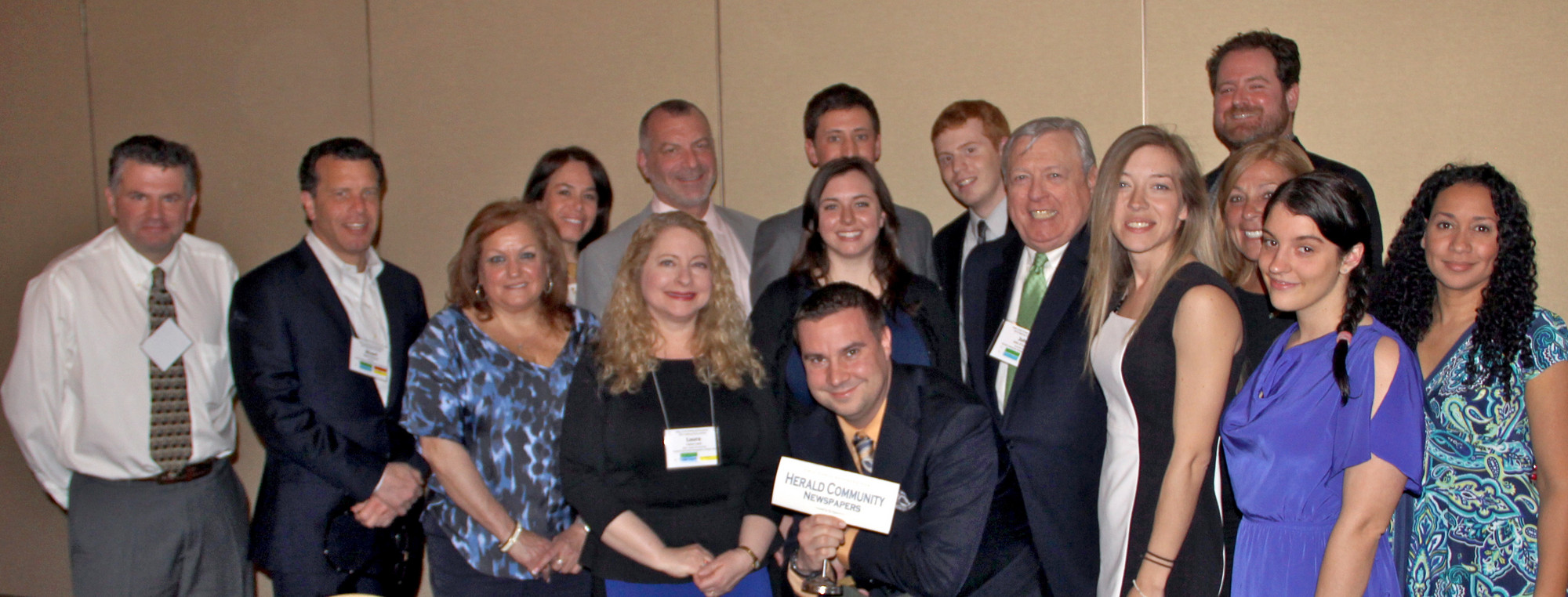 Staff members from Richner Communications, including Herald Community Newspaper, the Riverdale Press and the Oyster Bay Guardian, attended the New York Press Association convention in Saratoga Springs April 5-6.