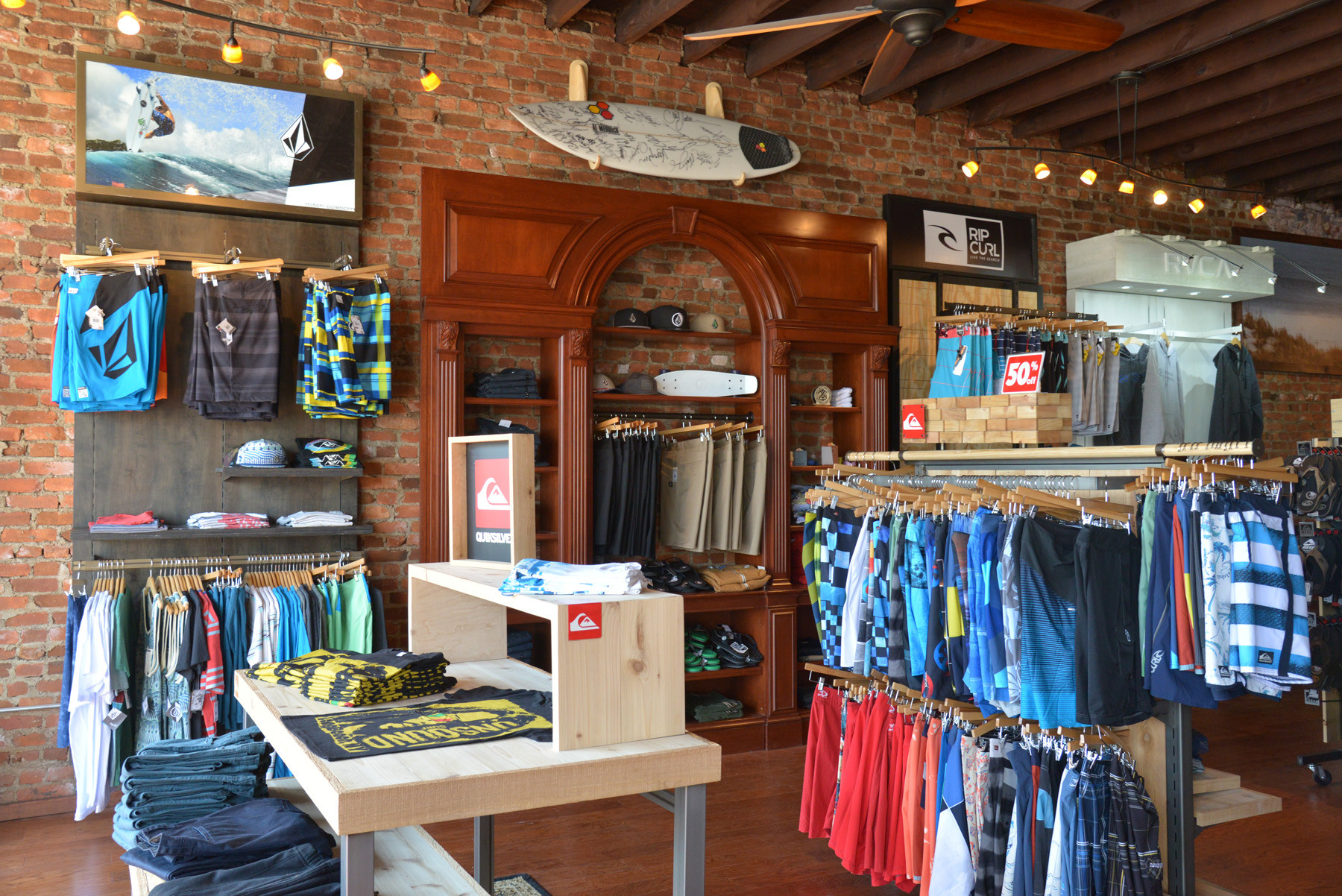 The reopened store has been redesigned and boasts a more modern, spacious look.