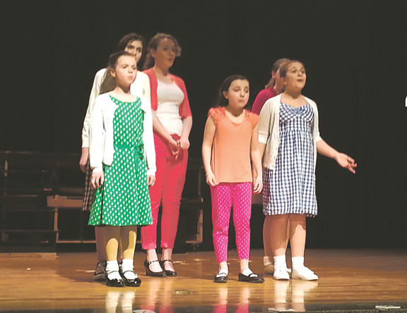 Young performers are ready to shine in this weekend's production at Lincoln Orens Middle School.