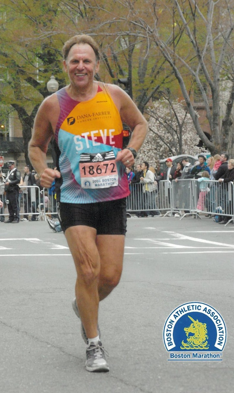 Hewlett resident Steven Greenberg had already completed his 17th Boston Marathon when the blasts occurred. Greenberg is shown running Boston in 2006.