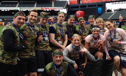 District 24 employees participated in the Spartan Race on April 13 at Citi Field to help raise money for the Sunrise Day Camp in Oceanside, which benefits children with cancer.