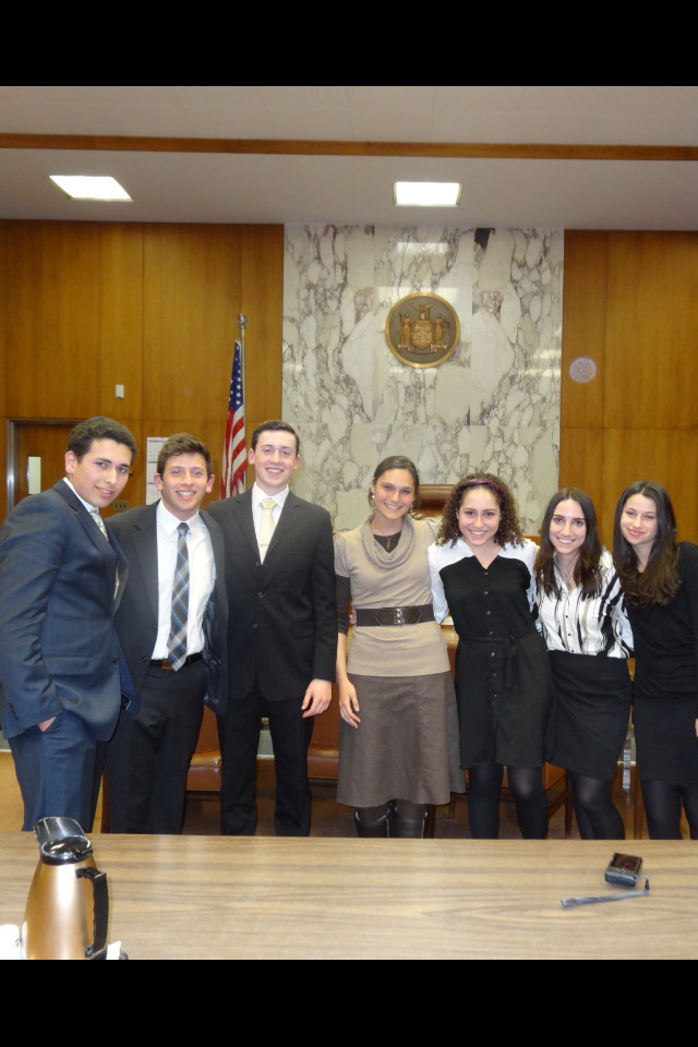 HAFTR�s Mock Trial team were competition semifinalists this year.