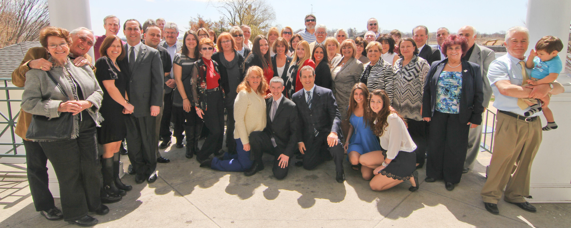 Hewlett-Woodmere Business Association members, family and friends of Michael Ludwig celebrated his life at the installation breakfast.