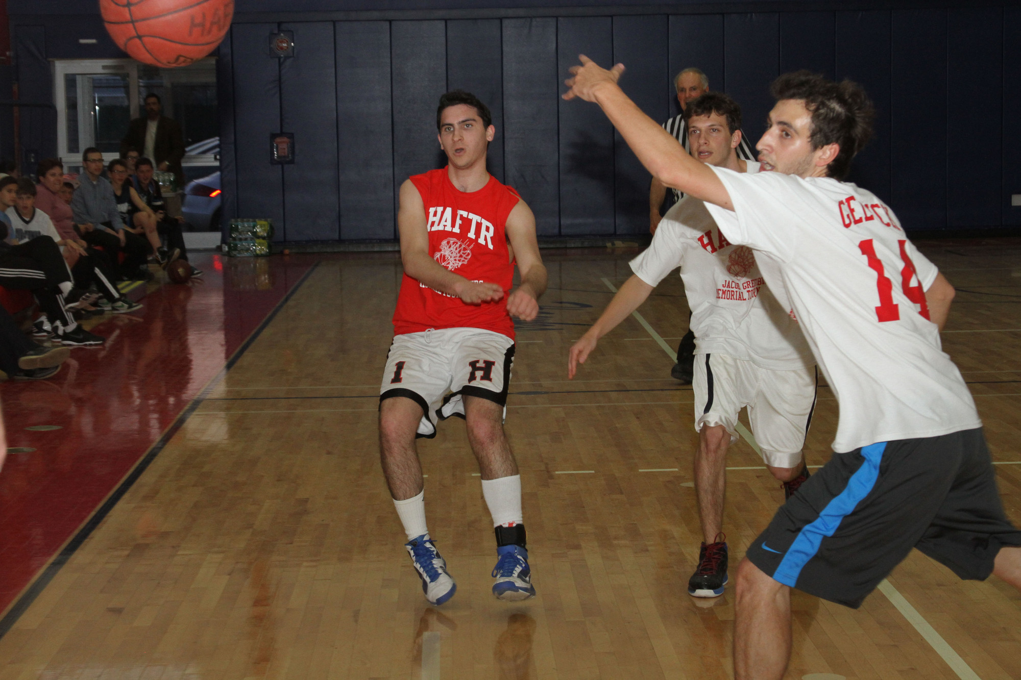 Jacob Haden Greenberg's memory was celebrated by the spirited play demonstrated by the alumni basketball players.