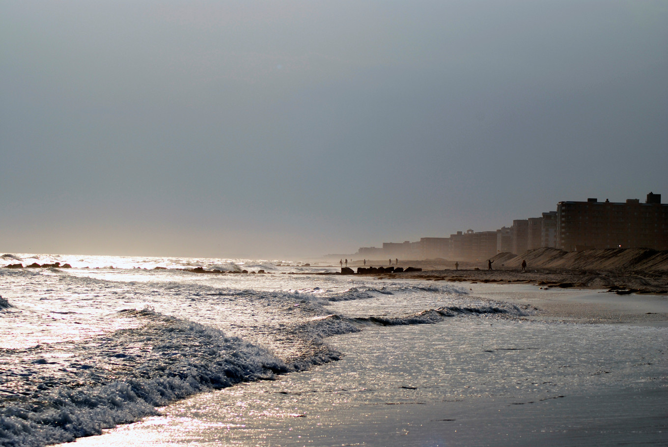 The Department of Health said that it will begin testing county beaches this week.