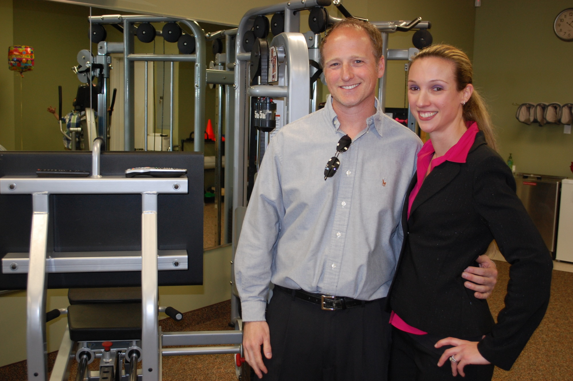 Michael Settanni and Leigh-Ann Edison are the owners of Paramount, which boasts state-of-the-art equipment and personal attention for patients.