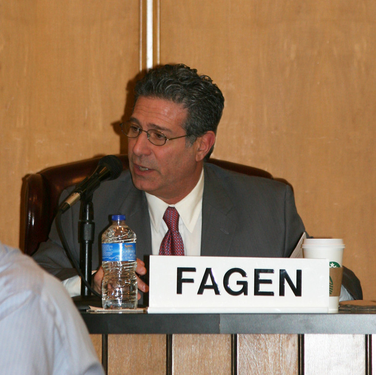 Sentencing for former City Councilman Mike Fagen has been rescheduled for May 9.