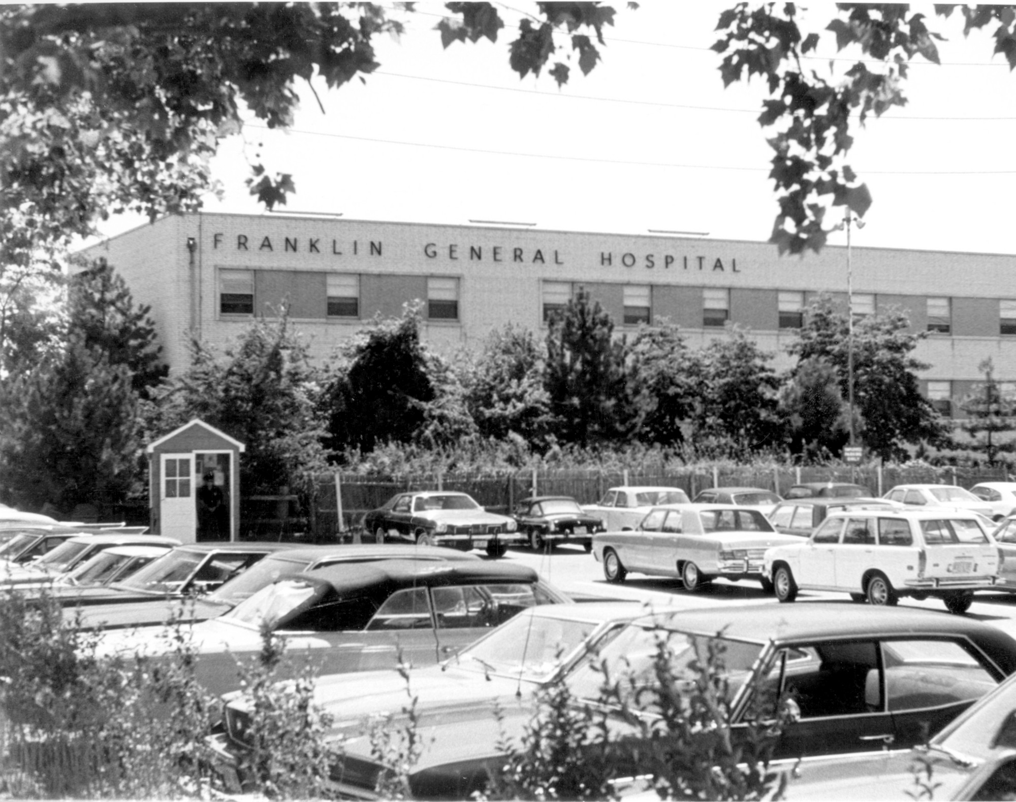 Franklin Hospital opened its doors on April 1, 1963.