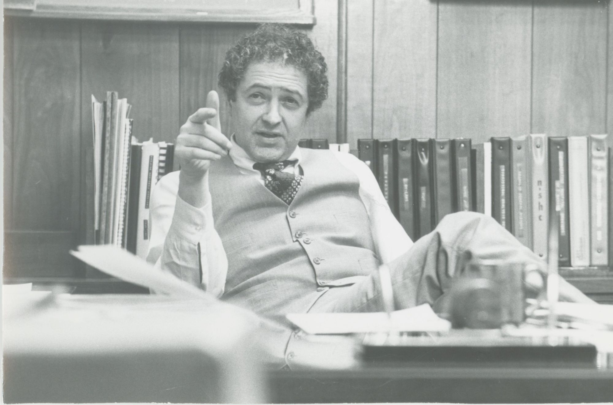 Albert Dicker was the executive director from 1964-99. During his 35 years leading Franklin Hospital, he oversaw several expansions of the building, the use of more medical technology and the establishment of a relationship with the North Shore-LIJ health system.