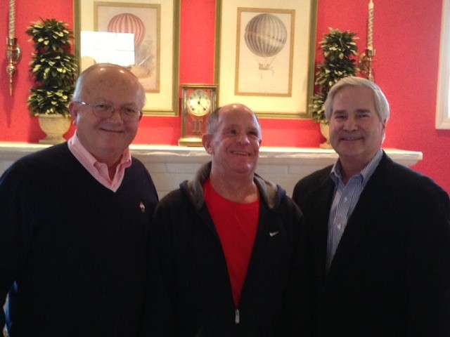 This year�s honorees Robert D. Klein, left, Ted Fass and Donald J. Steinert.