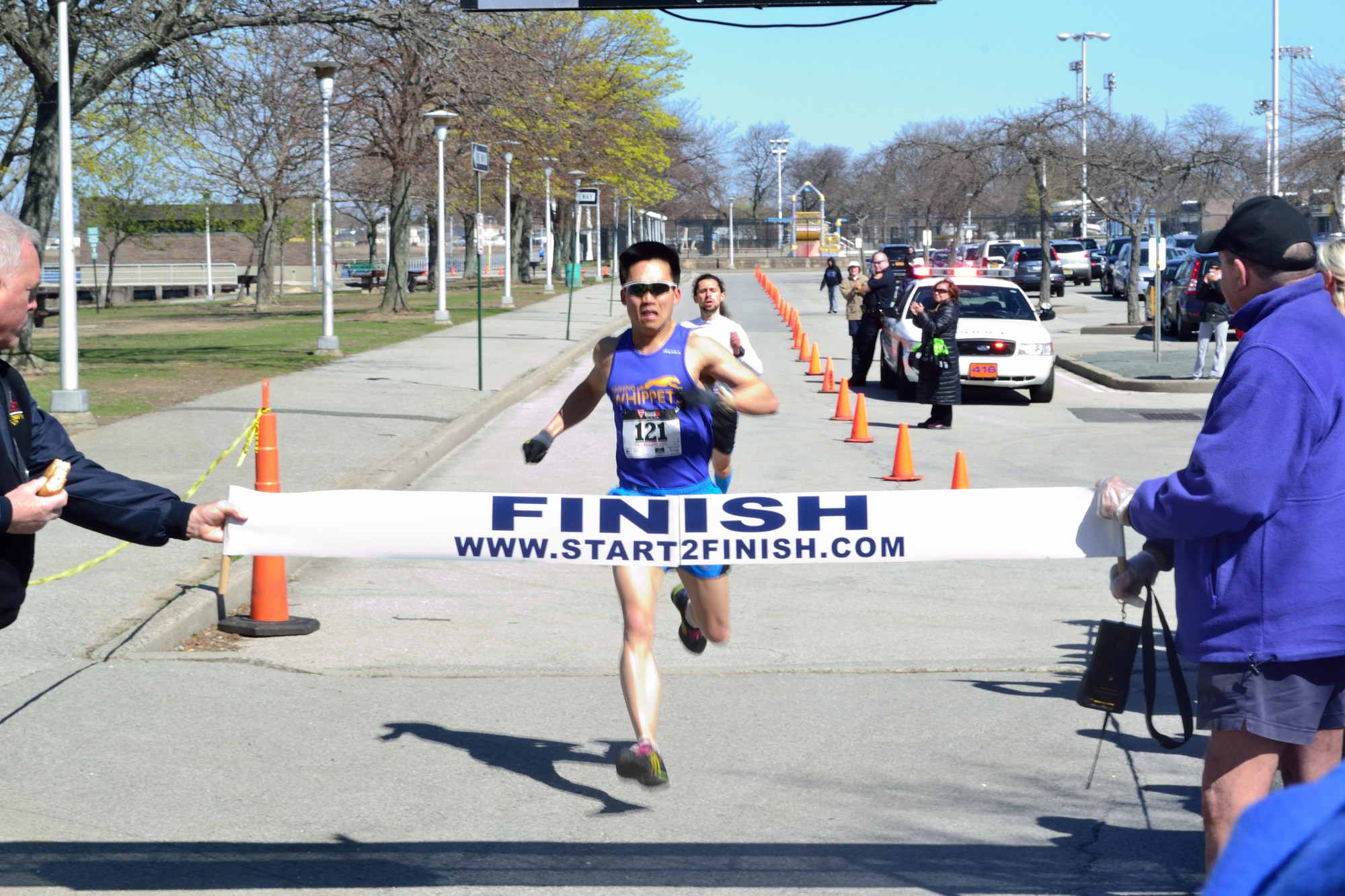 North Woodmere County Park hosted the fourth annual Friends of Israel Disabled Veterans-Beit Halochem Five Towns 5K Run/Walk. Flushing resident Tommy Pyon won the 5K with Dmitriy Krasny right behind him.