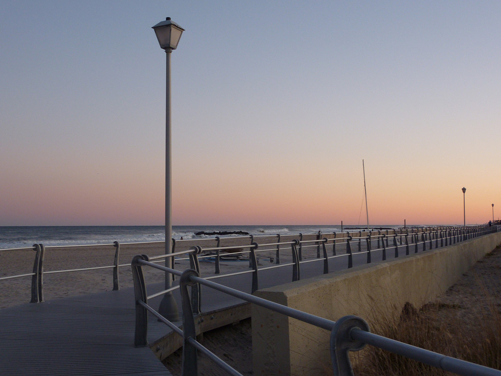 "City Manager Jack Schnirman said that comparing the Long Beach boardwalk to this one, in Spring Lake, N.J., is like comparing ""apples and peanut butter."""