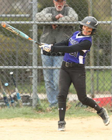 Sewanhaka's Jancarla Herrera went 4-for-4, scored three times and drove in two runs in its 9-3 victory over West Hempstead on April 17.