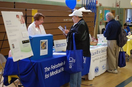 Residents were able to stop by any one of nearly 40 tables to get valuable health information last Saturday.