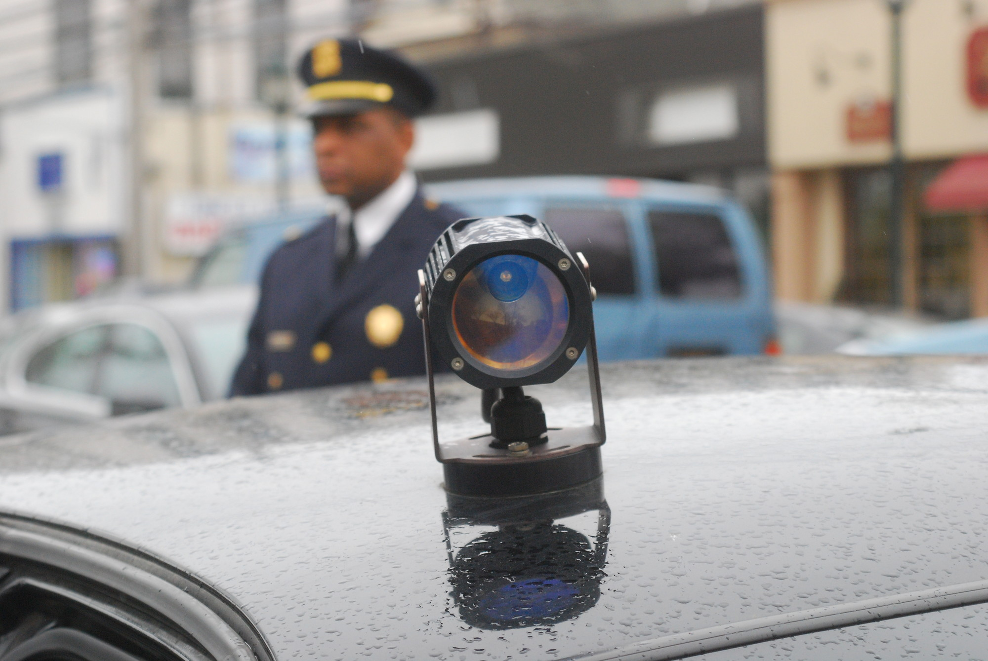Police will be using license plate readers like this one on unmarked cars to help track down the suspect or suspects.