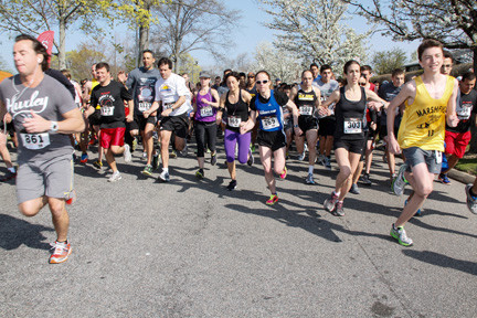 The Robbie's Run 5K race got under way shortly after 9 a.m. on Sunday.