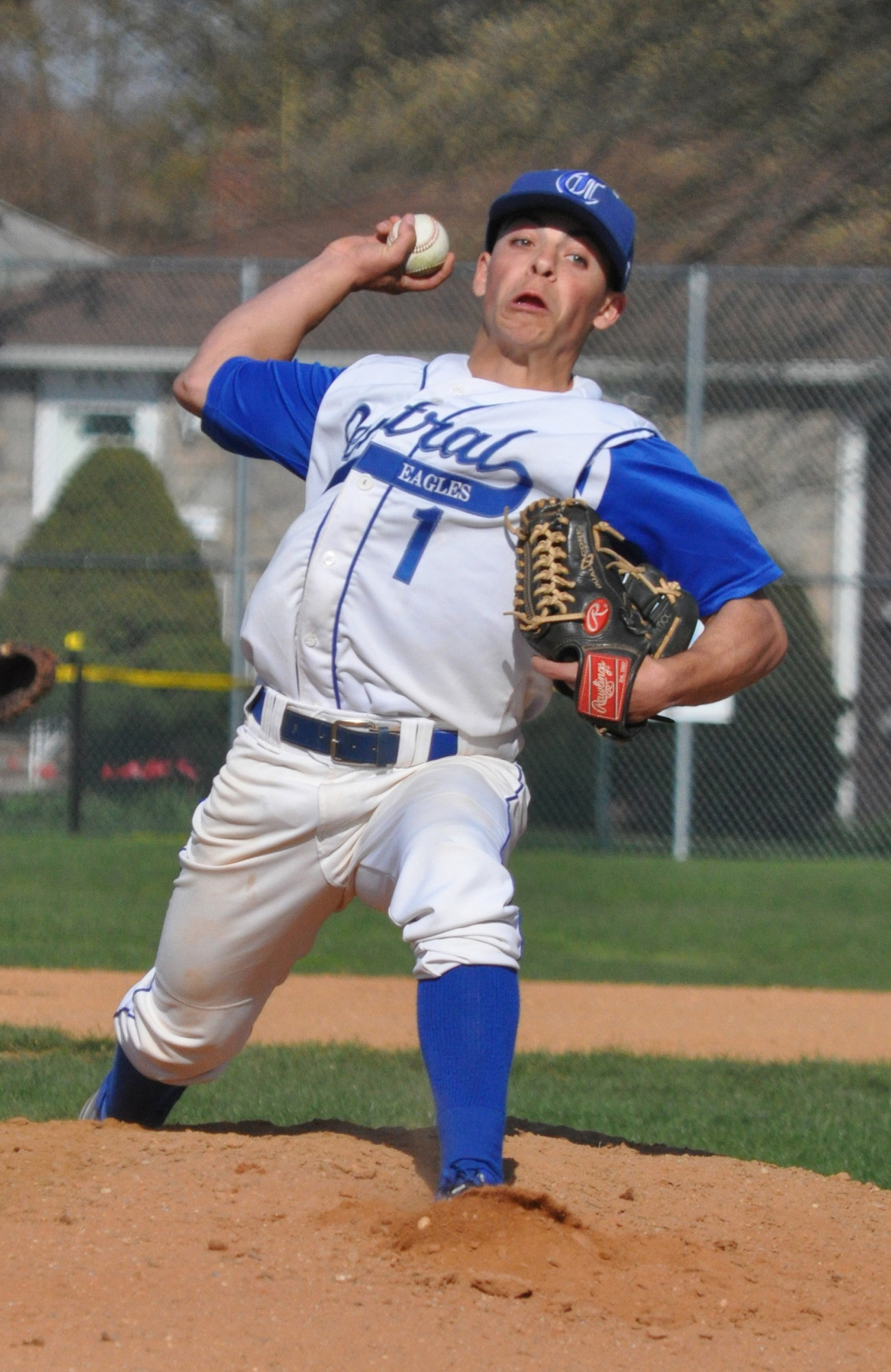Sophomore Joe Picillo has three of Valley Stream Central's four wins, including a 1-0 shutout of defending county champion Calhoun.