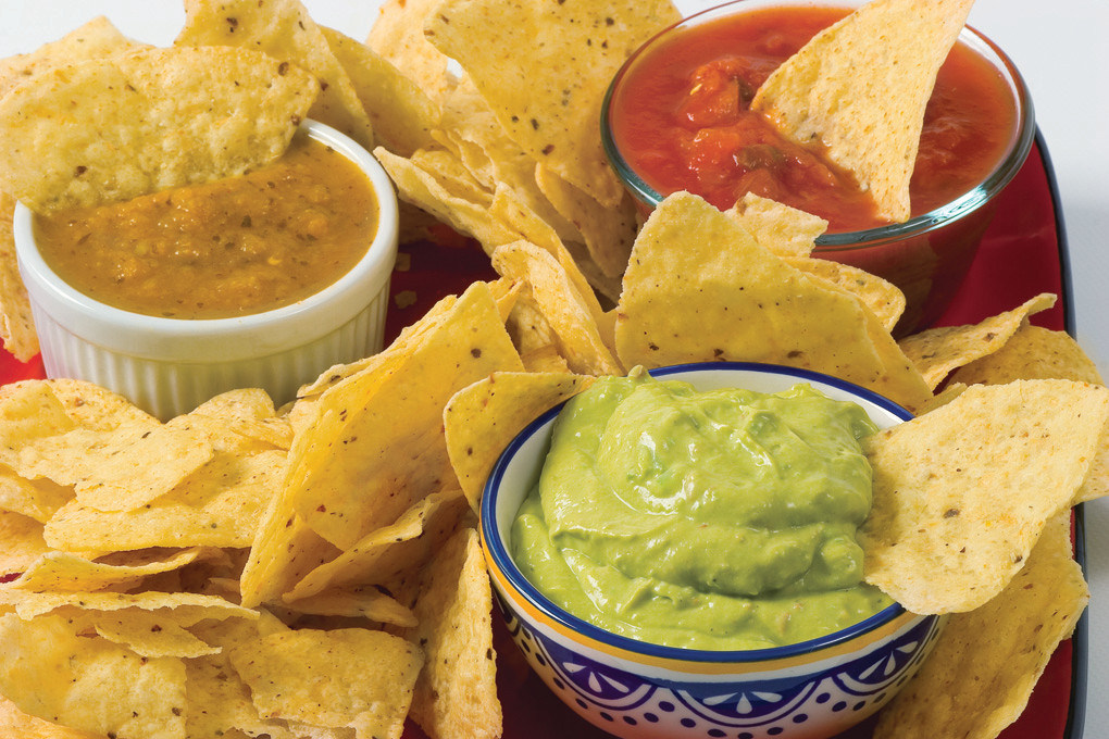 Cumin, tomatoes and onion uncover the secret to classic guacamole.