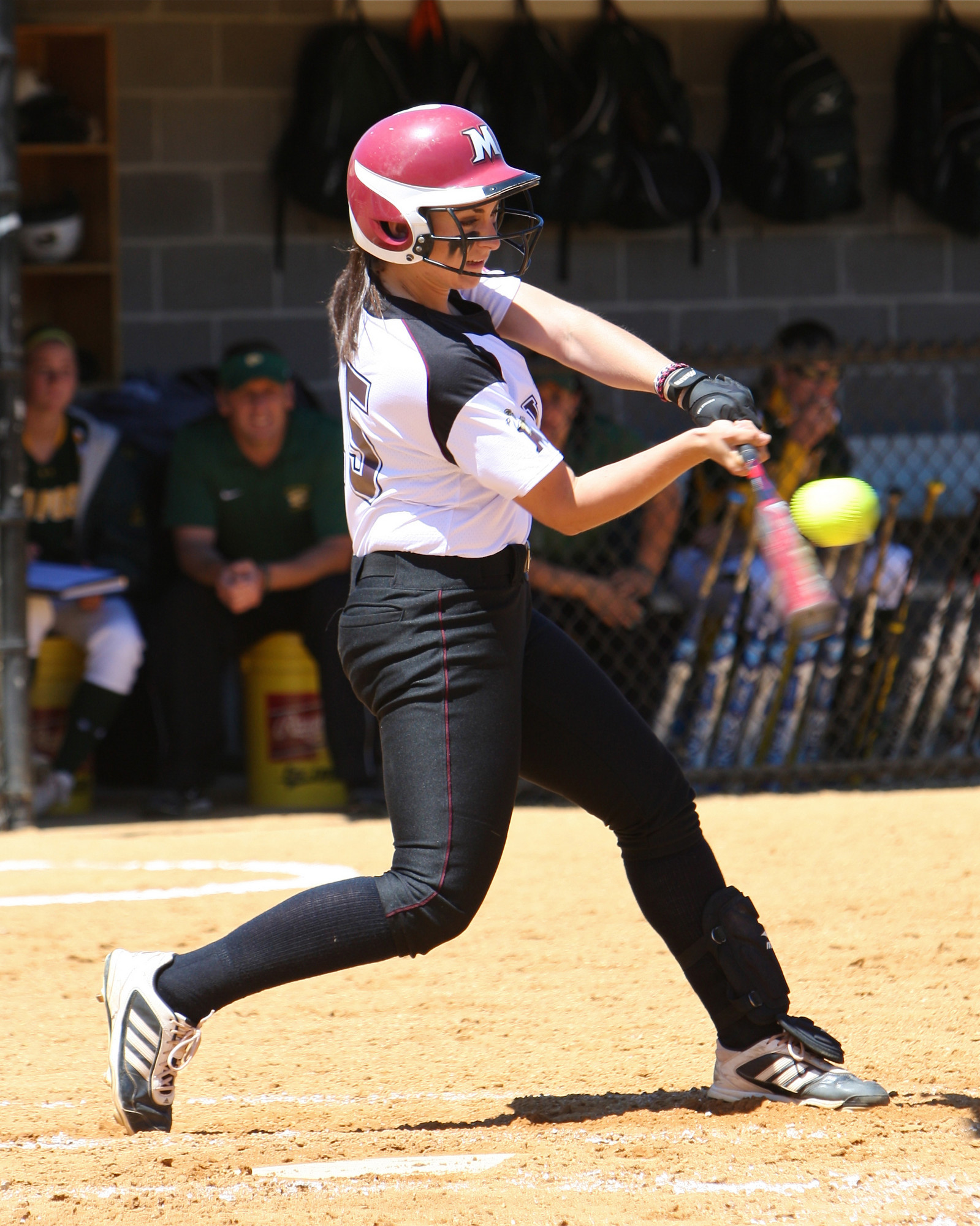 Victoria Gunnels, a Mepham High School graduate, hit the go-ahead home run for Molloy in its 4-1 East Coast Conference title win over LIU Post.