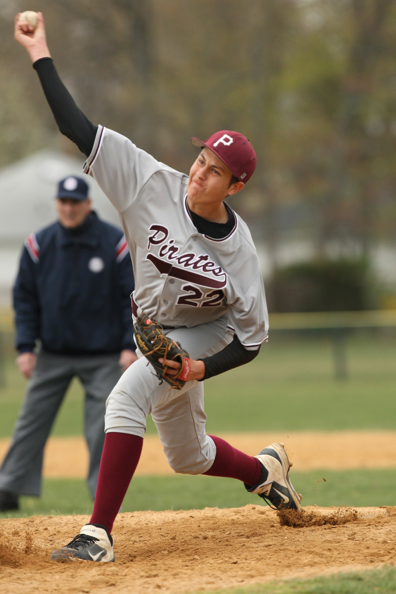 Mepham's Jason Foley was dominant in a 3-0 shutout of Calhoun in last week's series opener.
