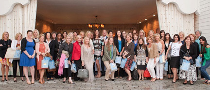 A recent Over 40 Females networking event drew more than three dozen participants.