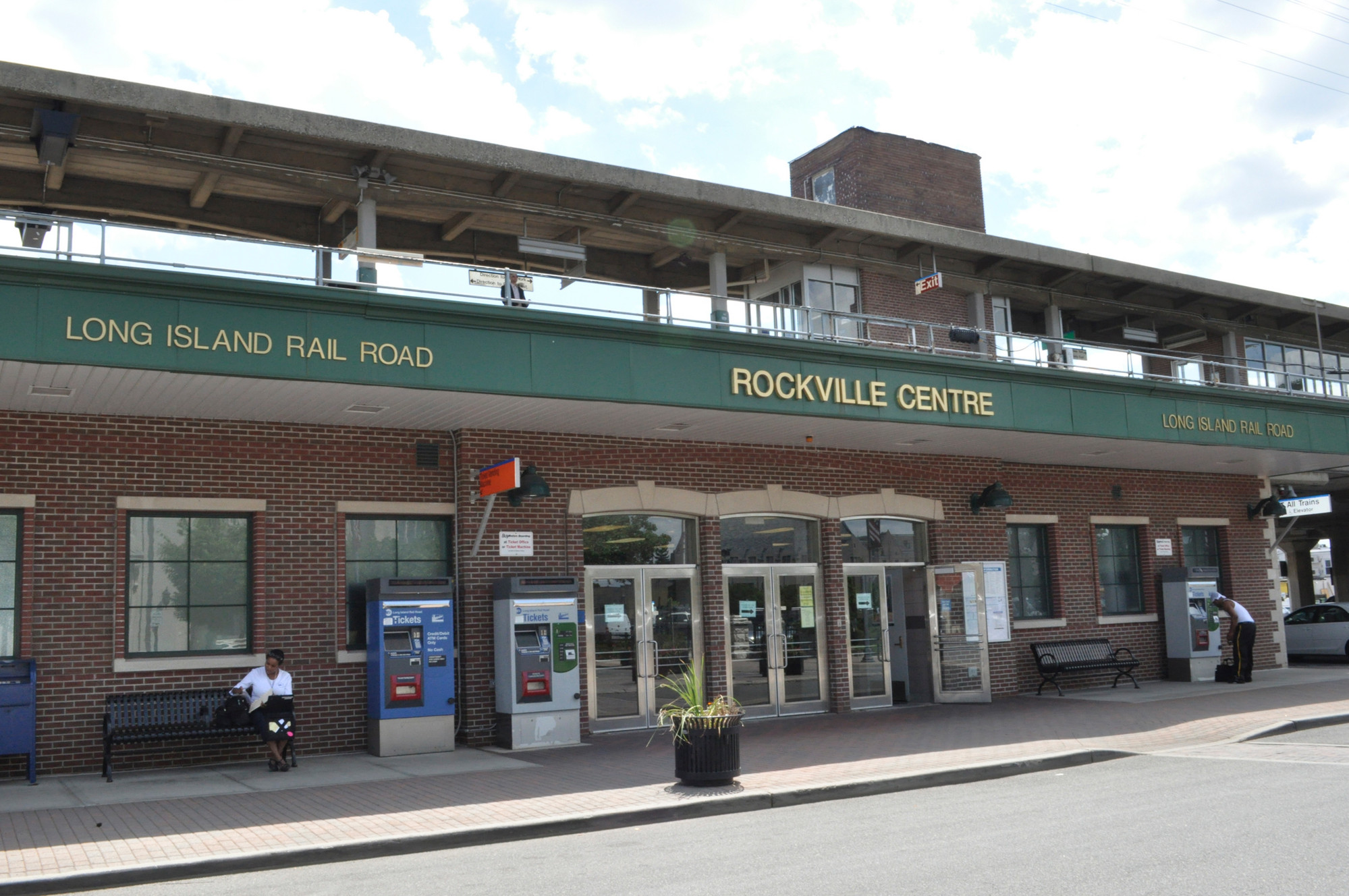 Two women were robbed, and one was attacked, near the Rockville Centre station this weekend.