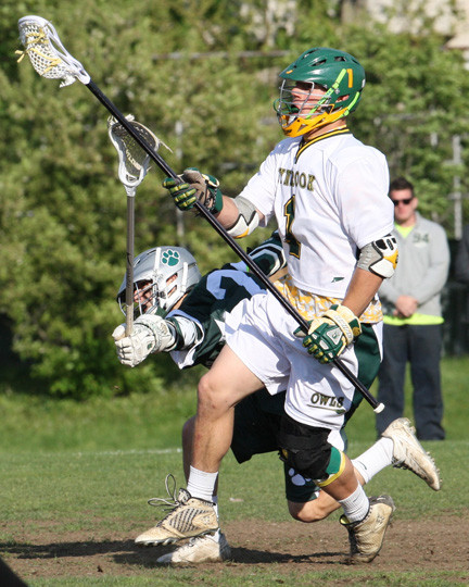 Lynbrook's Matt Mott had a goal and an assist and led the defense in Monday's 14-9 home playoff victory over Kennedy.