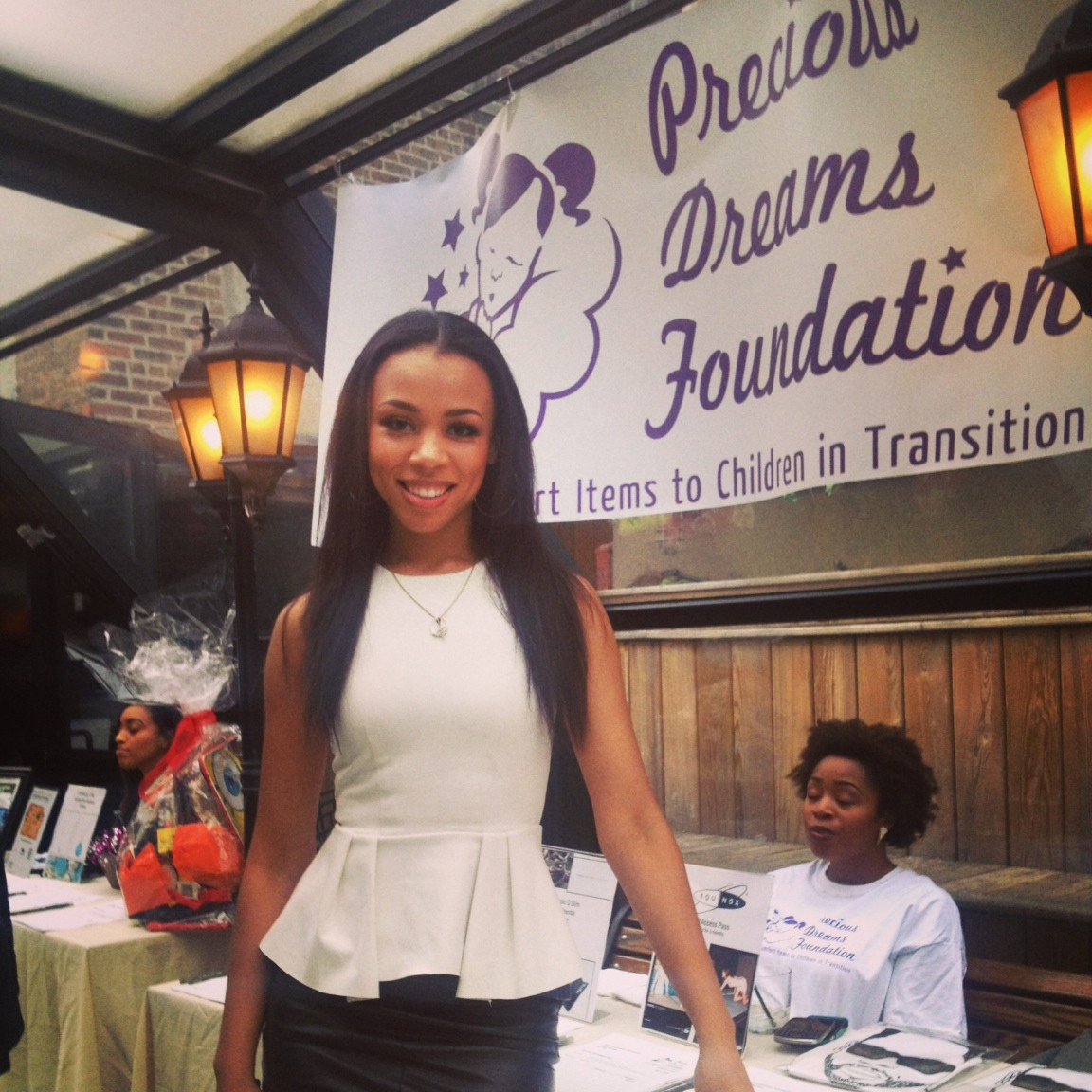 Nicole Russell, Lawrence High School class of 2004, started Precious Dreams Foundation to provide comfort to children in foster care.
