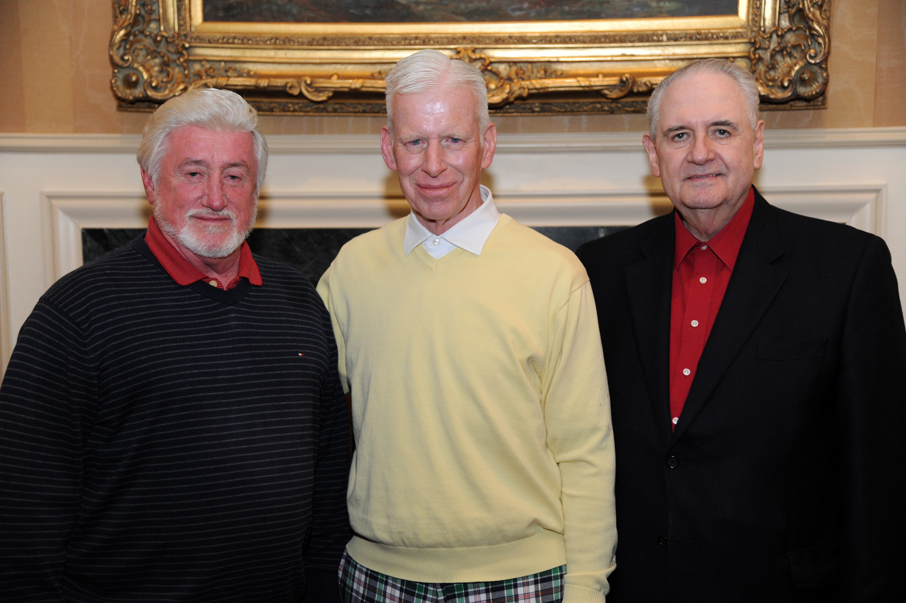 James McQuade, Peter Ledwith and Bill Gaylor were honored at the dinner.