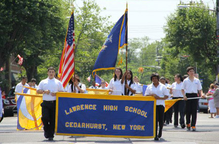 The Lawrence High School band will again march in this year's Memorial Day parades in Inwood on May 26 and in the Lawrence-Cedarhurst parade on May 27.