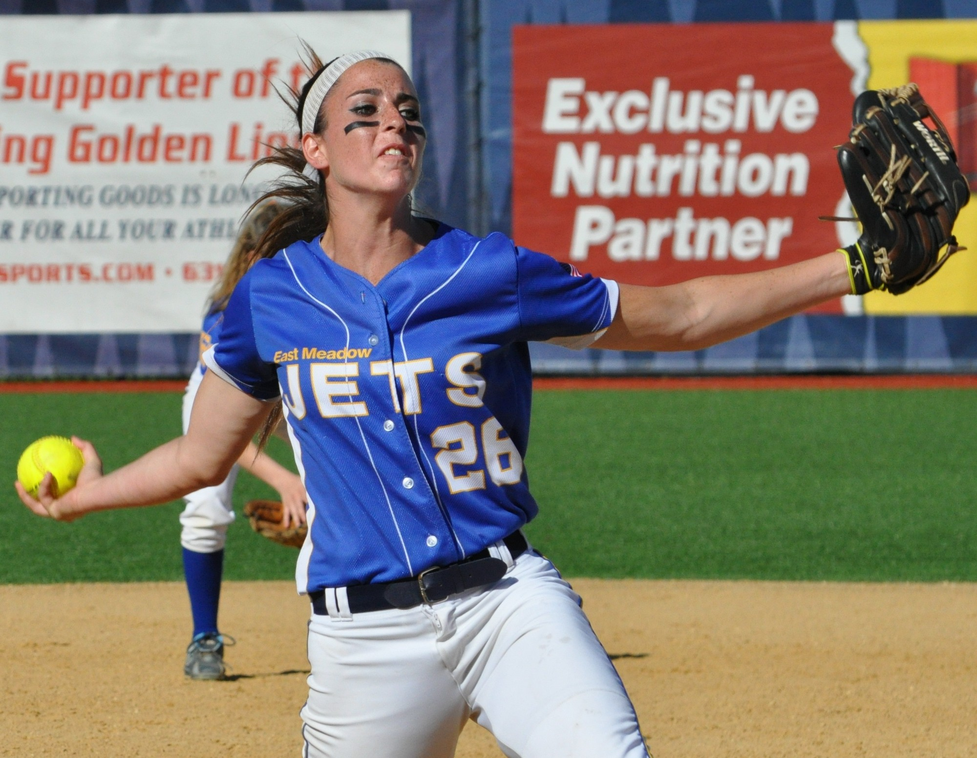 Kerri Shapiro allowed just one hit in East Meadow's win over Longwood.