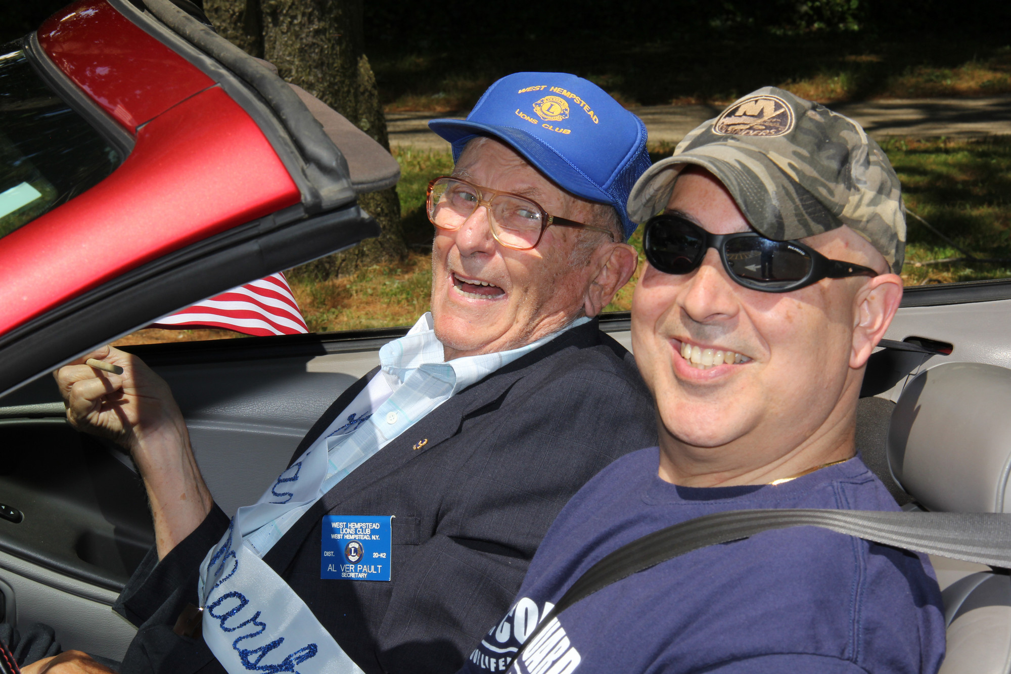 Grand Marshal Al VerPault