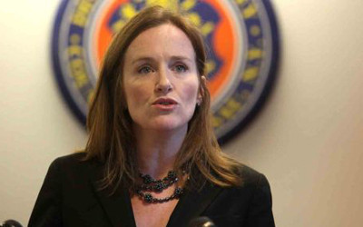 U.S. Rep. Kathleen Rice is calling on Governor Cuomo to resign after three women accused him of sexual harassment.