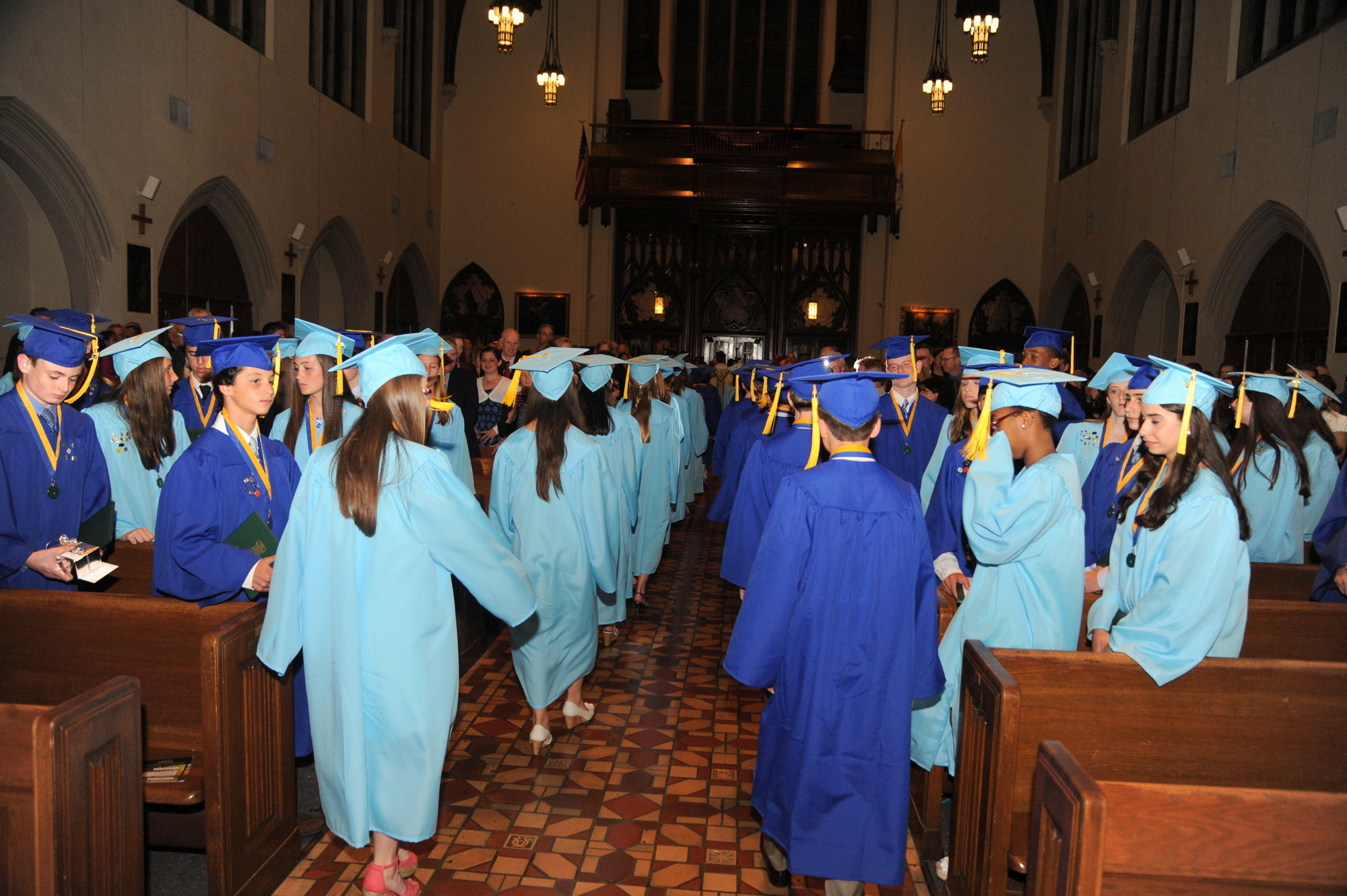 The 90 students of the class of 2013 graduated from St. Agnes Cathedral School on June 7.