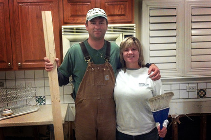 Kevin and Kristie Reilly�s home was damaged by Hurricane Sandy, and they are hoping that NY Rising grants will help cover the repair costs.