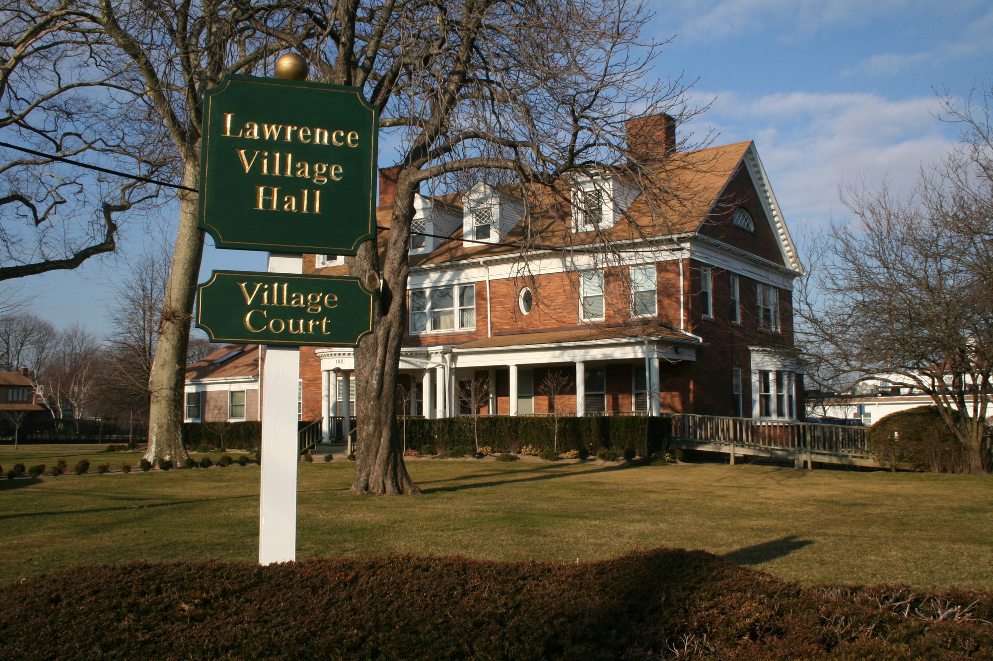 Village of Lawrence Mayor Martin Oliner addresed several issues in a letter to residents.