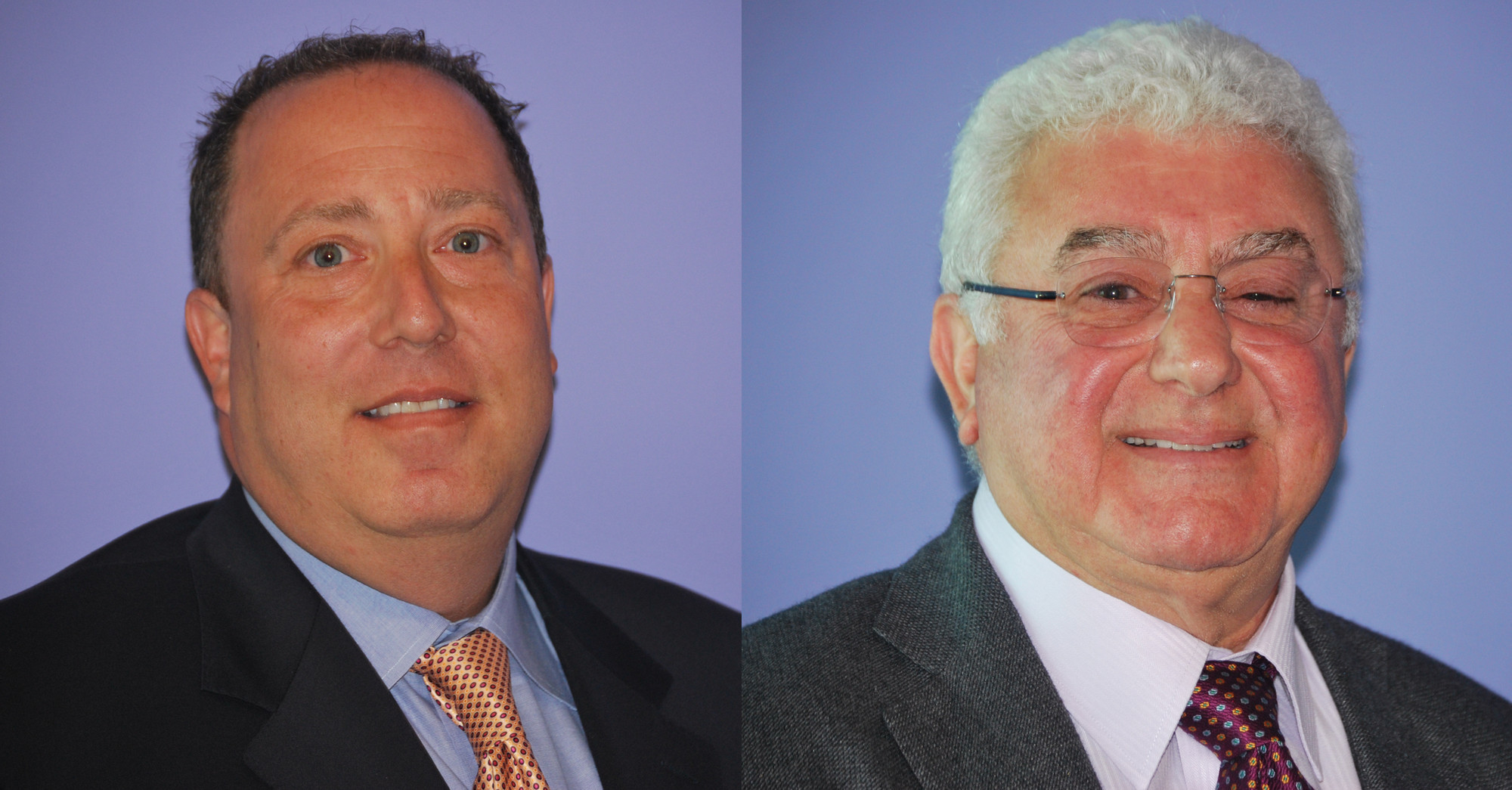 Lee Israel Left, defeated Ed Mukamal to become the first new mayor in Woodsburgh since 1994.