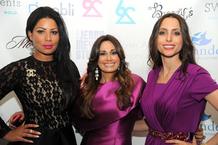 The Couture for a Cause: Joys of Life fashion show was organized by, from left, Esther Silber-Berg, Sharon Langert and Michal Weinstein.