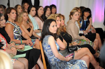 More than 500 people came out to support the fashion show that raised $55,000.